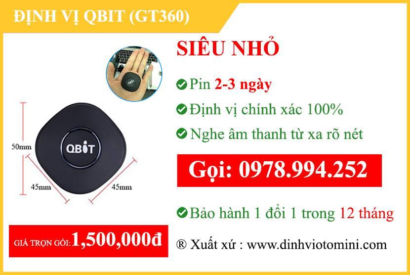 định vị không dây Qbit