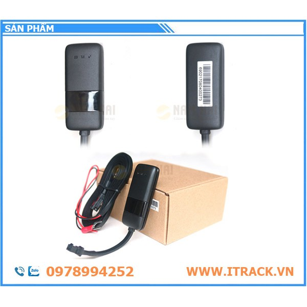 Trọn bộ thiết bị định vị ô tô S101