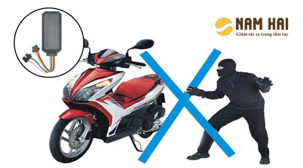 Định vị xe máy chống trộm X7S