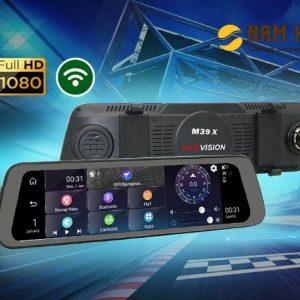 camera hành trình kết hợp cam lùi Webvision M39X