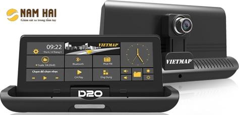 Thiết bị dẫn đường Viemap D20 có camera ghi hình kép