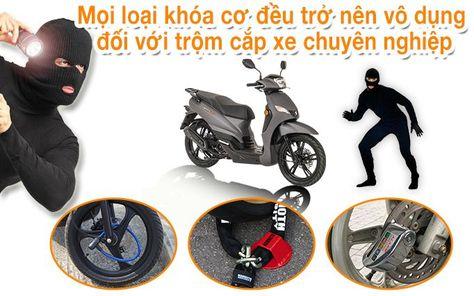 Gắn định vị xe máy