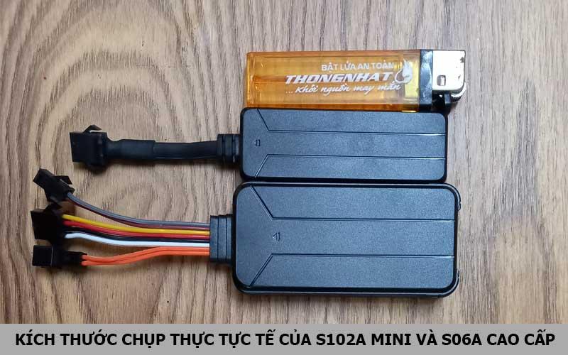 Thiết bị định vị S102A mini, S06A