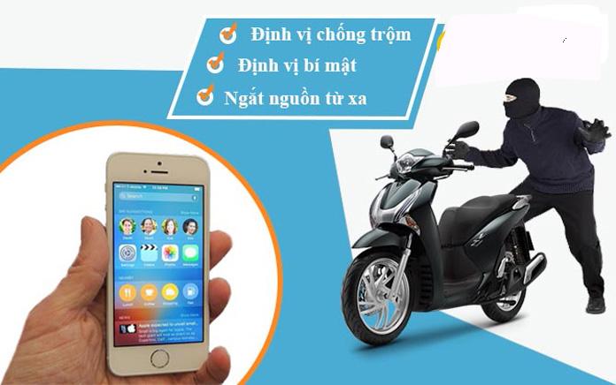 chống trộm xe máy