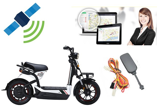 định vị xe đạp điện